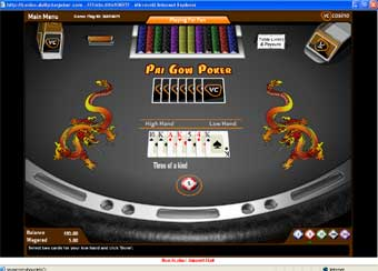 casino game, chinese poker