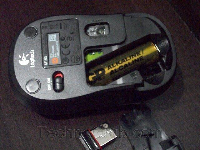 logitech battery