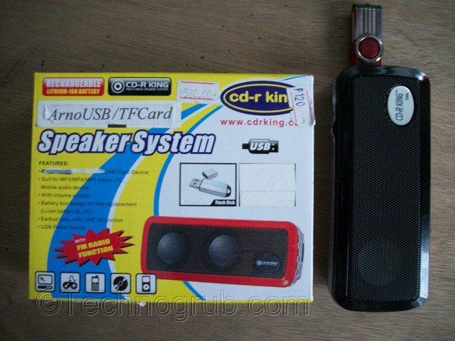 portable speaker system
