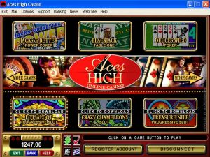 casino game, aces high